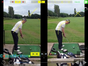 posture dictates movement and angles