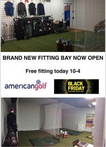 Pro shop - fitting bay
